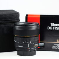 Sigma 15mm F2.8 EX DG Diagonal Fisheye for Nikon