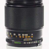 B&H/Canon FD 135mm F2.5 S.C