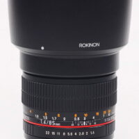 Rokinon 85M-C 85mm F1.4 AS IF UMC Aspherical for Canon
