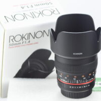 Rokinon 50M-C 50mm F1.4 AS IF UMC for Canon