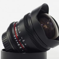 Samyang Cine 8mm T3.8 Fisheye De-clicked Aperture for Canon