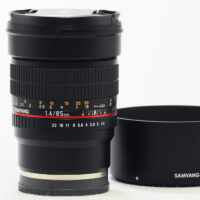 Samyang 85mm F1.4 AS IF UMC Aspherical for Sony E-mount