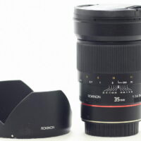 Rokinon 35mm F1.4 AS UMC with AE chip for Canon