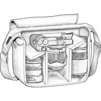 Tamrac 5422 Aria 2 Shoulder Bag (Berry)