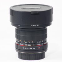 Rokinon 8mm F3.5 HD UMC Fisheye with Removable Hood for Canon