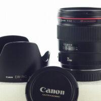 Canon EF 35mm F1.4 L USM + hood