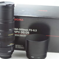 Sigma 150-500mm F5-6.3 APO DG OS HSM for Nikon