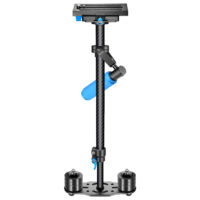 Neewer Carbon Fiber 24″/60cm Handheld Stabilizer with Quick Release Plate