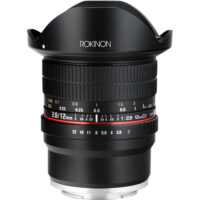 NEW Rokinon 12M-E 12mm F2.8 ED AS IF UMC Fisheye for Sony E-mount