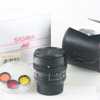 (HIẾM) Sigma 16mm F2.8 Filtermatic fisheye for Nikon AI