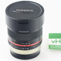 Rokinon RK8MBK28-FX 8mm F2.8 UMC Fisheye II Fisheye for Fuji X-Mount (Black)