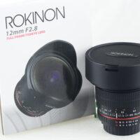 Rokinon 12M-N 12mm F2.8 ED AS IF UMC Fisheye AE chip for Nikon