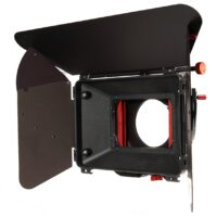 shoot35 CINEbox 4×4″ Matte Box with Top & Side Flags