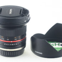 Samyang 12mm F2.0 Ultra Wide Angle for Sony E-mount