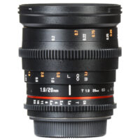 Rokinon Cine DS DS20M-NEX 20mm T1.9 ED AS IF UMC for Sony E-mount
