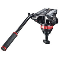 Manfrotto MVH502A Video Fluid Head with 75mm Half Ball