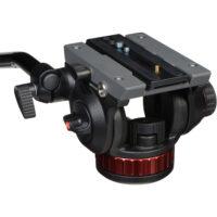 Manfrotto MVH502AH Video Fluid Head 3/8″ Flat Base