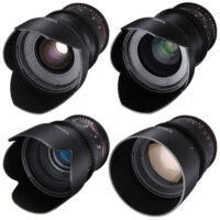 SET OF 4 – Rokinon Cine DS 20/35/50/85mm ED AS IF UMC
