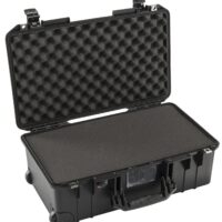 Pelican Air 1535 Carry-On Case with Foam Set (Black)