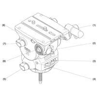 Chân máy Vinten Vision 11 100mm Fluid Head w/ 2-Stage Aluminum Tripod