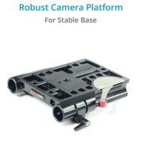 CAMTREE 19mm/15mm Baseplate with Dovetail Tripod Plate CH-DTPQ