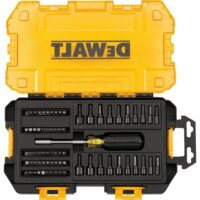 DEWALT DWMT73808 Multi-Bit & Nut Driver Set, 70 Piece