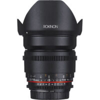 Rokinon Cine DS DS16M-N 16mm T2.2 CS Cine UMC for Nikon DX