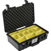 Pelican Air 1485AirWD Compact Hand-Carry Case (Black, Dividers)