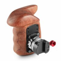 SMALLRIG Right Side Wooden Grip with NATO Mount 2117