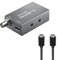 Combo Blackmagic Design UltraStudio Recorder 3G & Dây cáp Thunderbolt 3