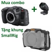 COMBO BLACKMAGIC Pocket Cinema Camera 6K Pro & Kính ngắm PCC Pro EVF