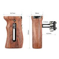 SMALLRIG Universal Wooden Side Handle HSN2093