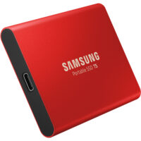 Ổ cứng Samsung T5 SSD 1TB USB-C (Red)