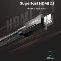 Dây HDMI-HDMI 2.1 1m Ugreen 70319 Support 8K/60Hz