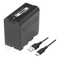 Pin NP-F980 56.2Wh 7.2V 7800mAh Li-ion Battery Pack